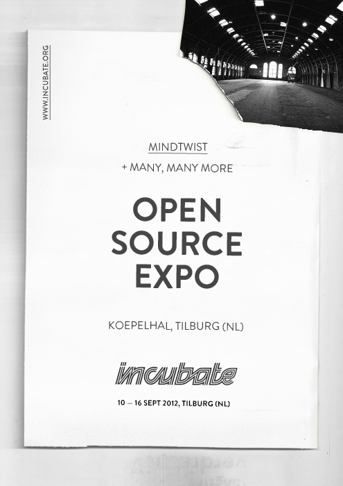 Incubate Expo uitnodiging MindTwist